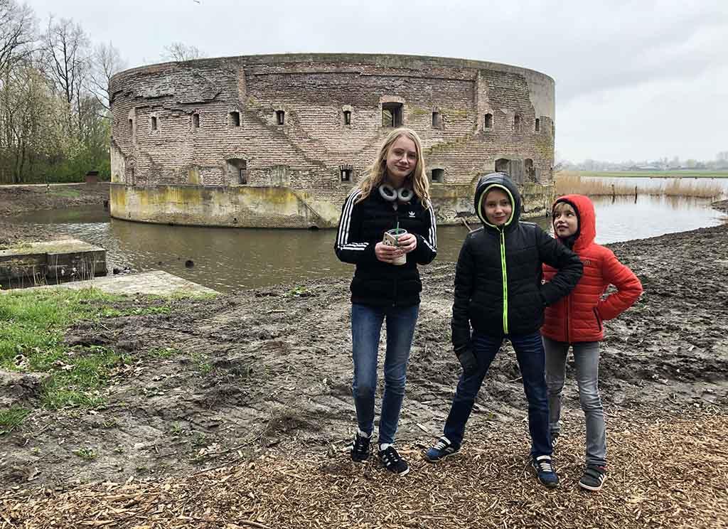 Fort Uitermeer is grotendeels bewaard gebleven