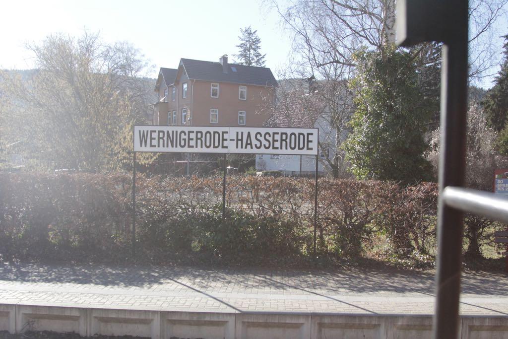 Een van de stations in Wernigerode.