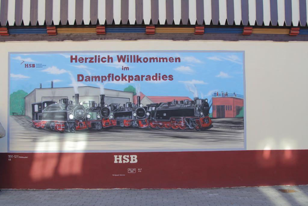 De Harzerschamlspurbahn: de stoomtrein door de Harz.