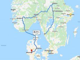 kaartje_zweden_denemarken_noorwegen