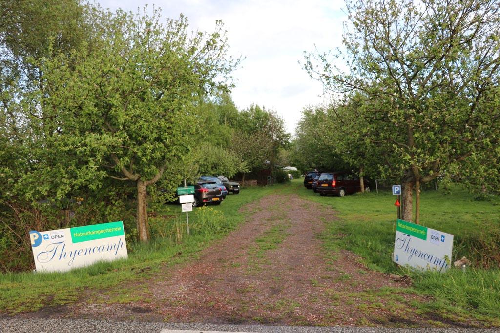 Ineens is daar het pad naar Thyencamp Slapen-in-een-Trekkershut-5