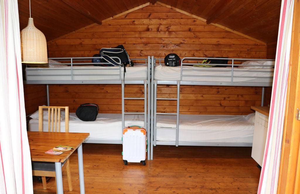 De basis van een Trekkershut is een eenvoudige inrichting Slapen-in-een-Trekkershut-9