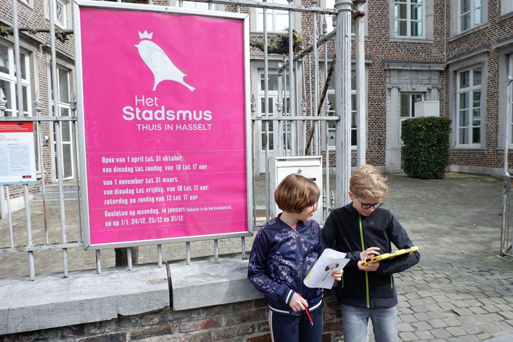 Het Stadsmus is het stadsmuseum van Hasselt. Hier start de luisterroute die ons door de stad leidt.