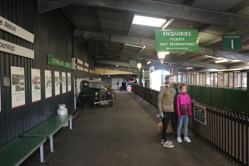 Een treinritje behoort ook tot de mogelijkheden tijdens een bezoek aan het pretpark.