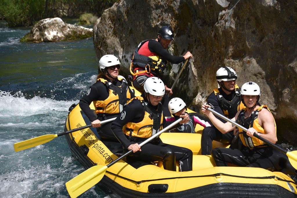 raften-in-kroatie-cetina-rivier