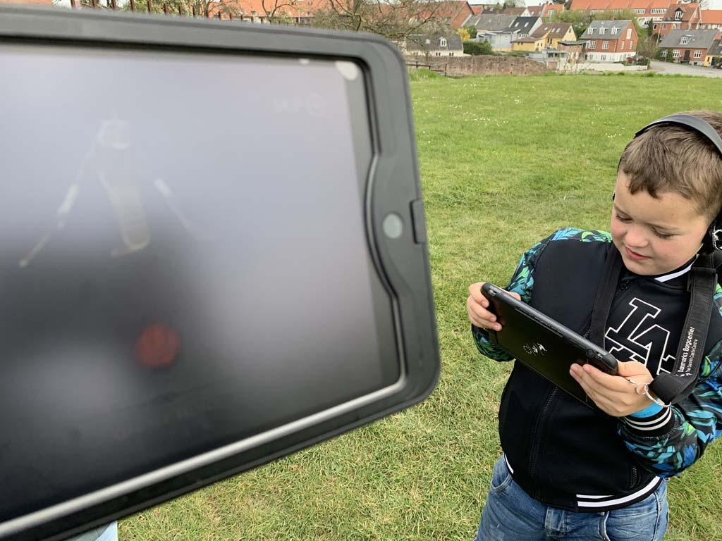 De iPad game valt erg in de smaak bij mijn jongste.