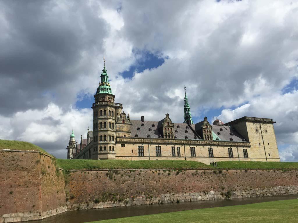 Kronborg Slot, een schitterend kasteel.