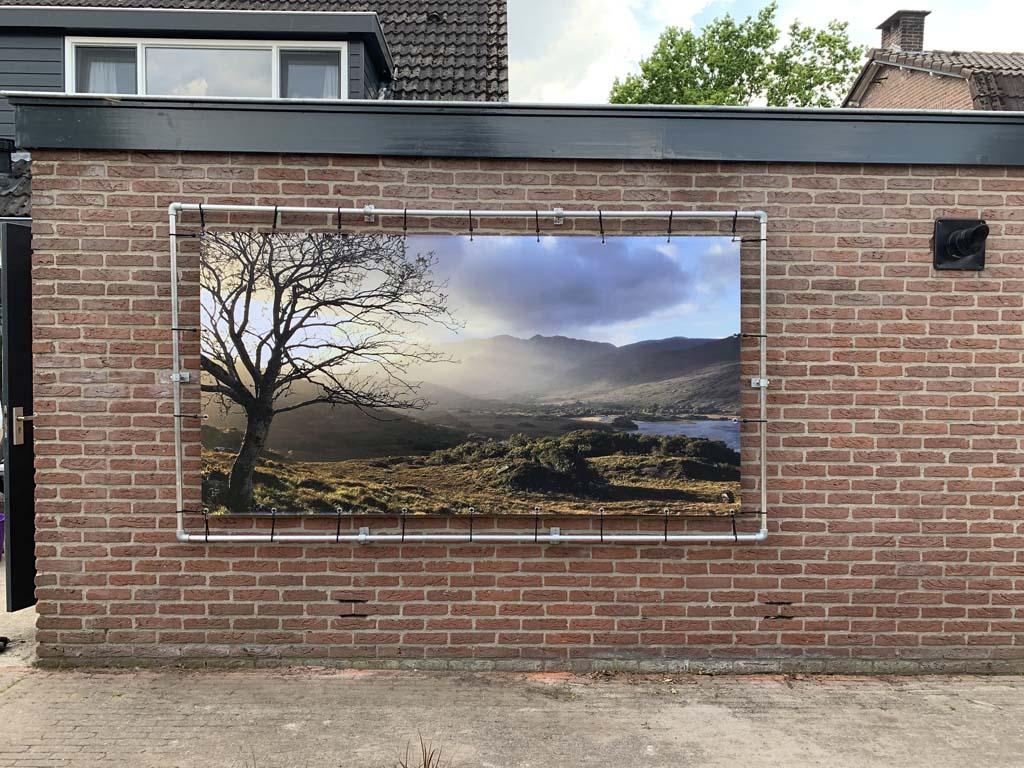 Ontzettend blij met deze foto van Ierland op deze muur.