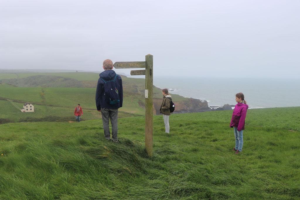 Wandelen in Devon met kinderen