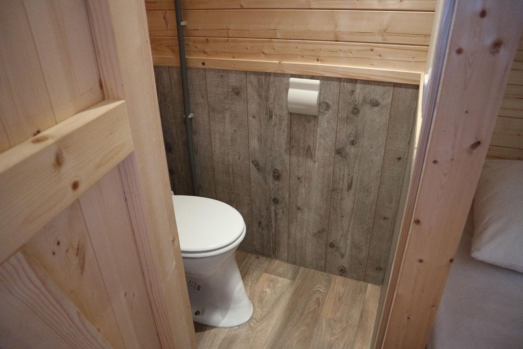 Toilet in de Duinlodge.