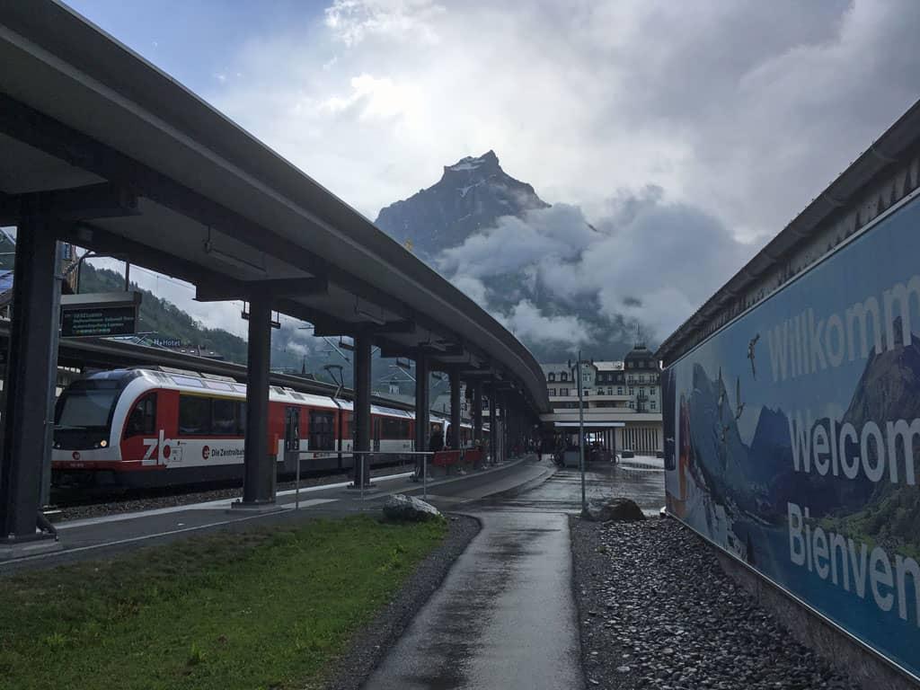 Het station van Engelberg