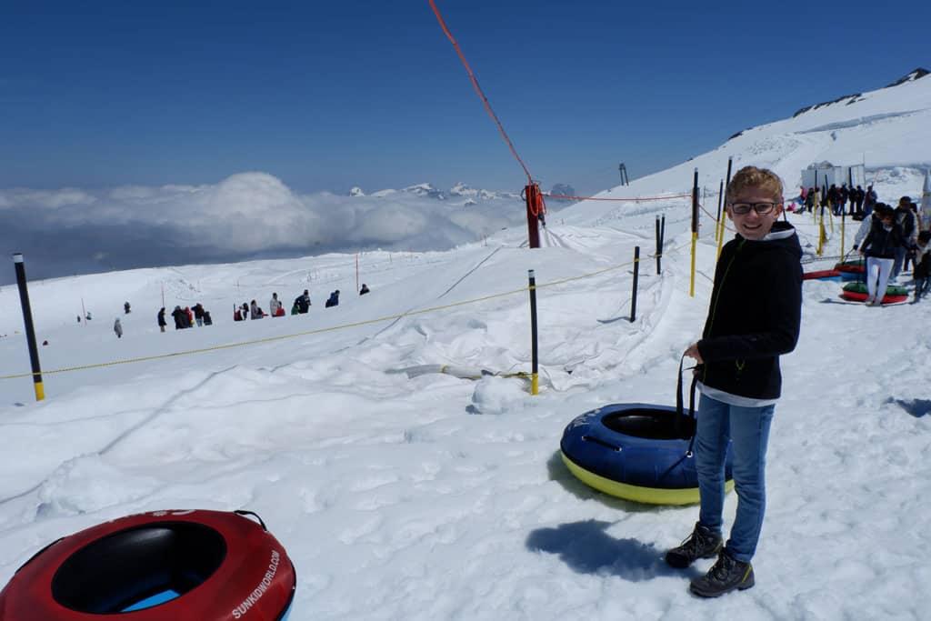 TITLIS Engelberg Glacier park