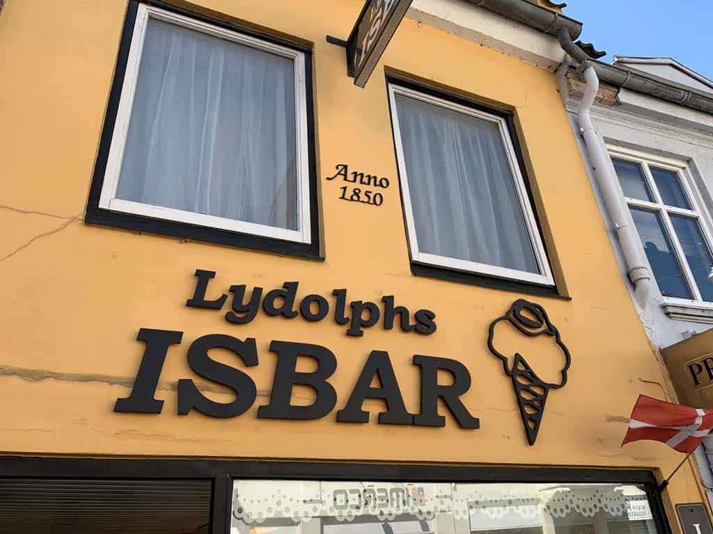 Beste ijswinkel van Denemarken!