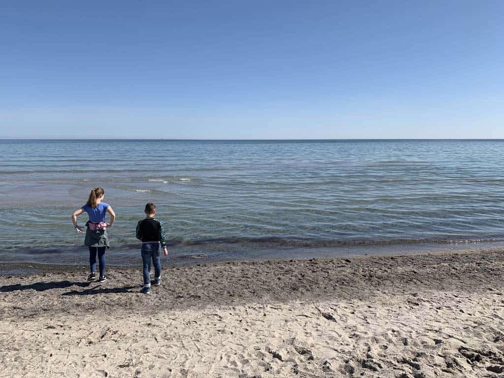 Het strand van Marielyst.