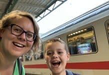 Heerlijk, met de trein naar Berlijn.
