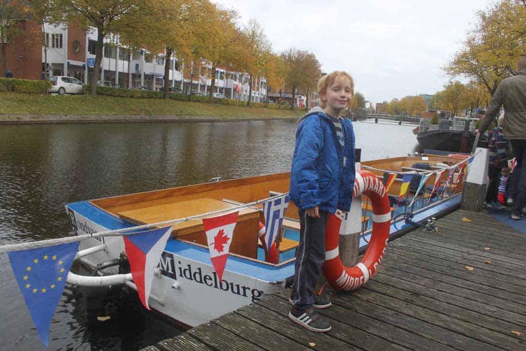 Altijd leuk, een rondvaart maken tijdens een citytrip Middelburg