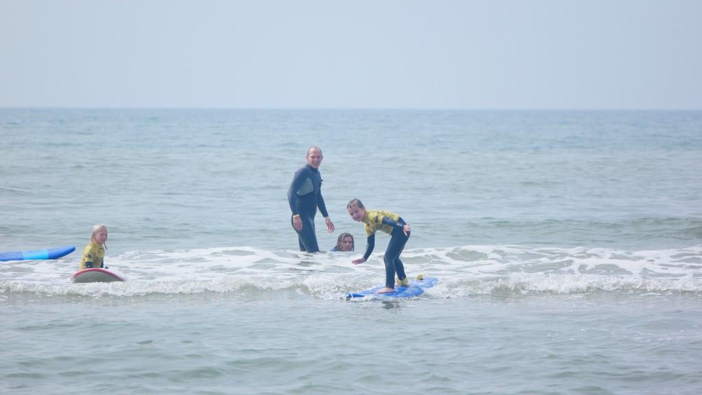Van niet durven surfen naar de beste van je groep zijn.