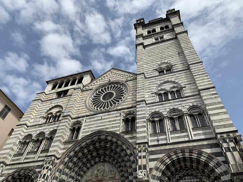 De kathedraal van Genua.