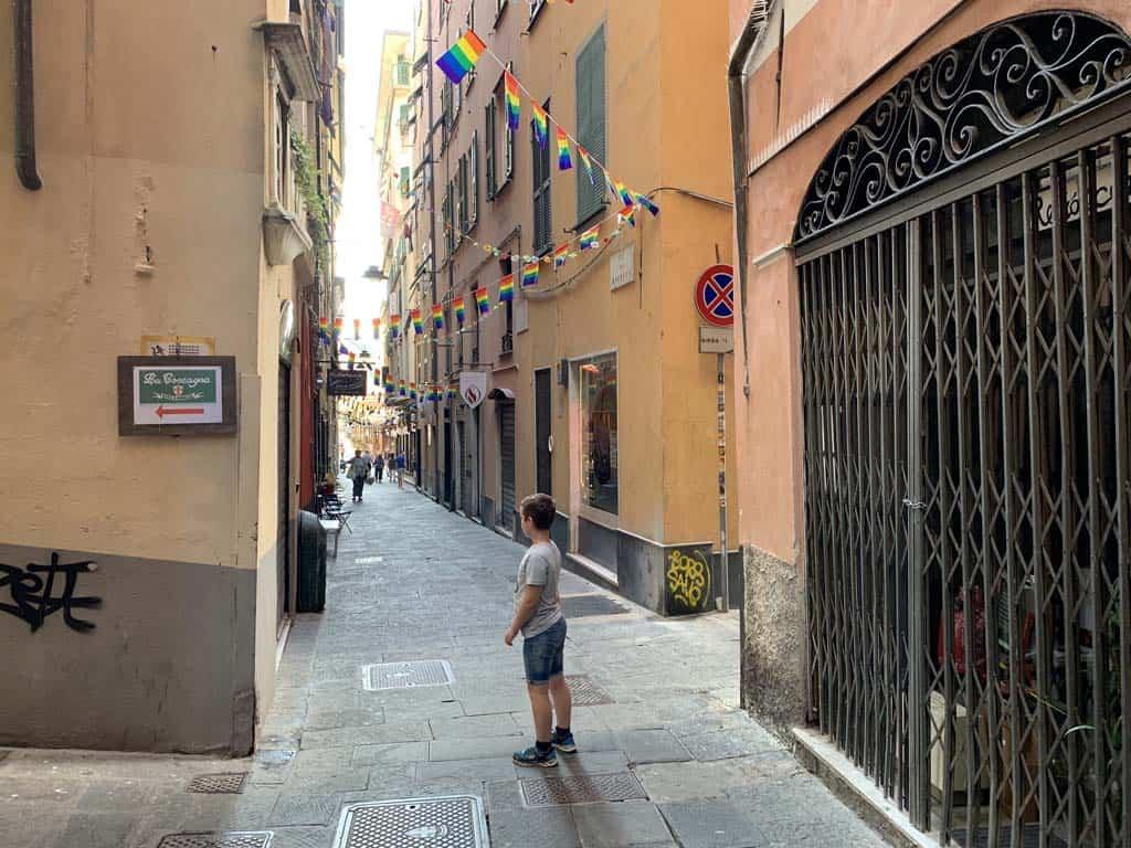 Zoveel leuke straatjes om doorheen te struinen.