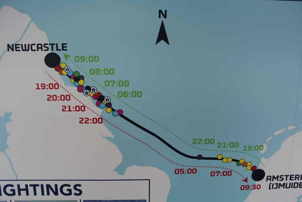 Vooral voor de kust van Newcastle kunnen we veel zeeleven spotten