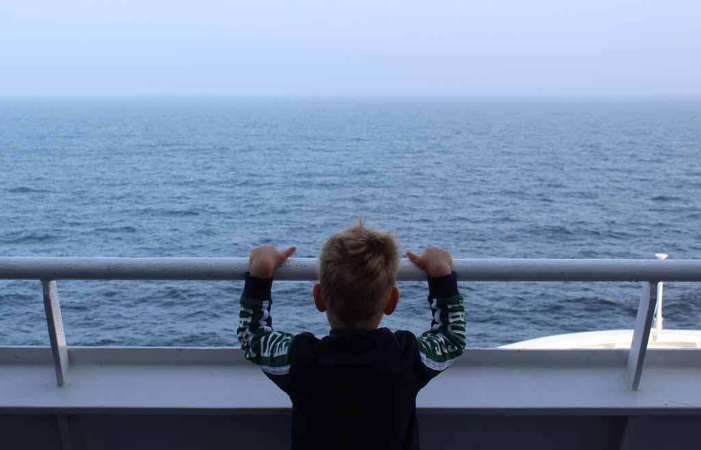 Samen gaan we aan boord van de DFDS King Seaways