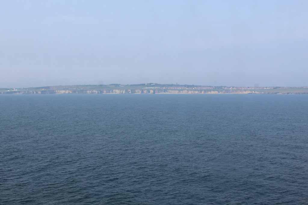Land in zicht! We naderen de kust van Engeland