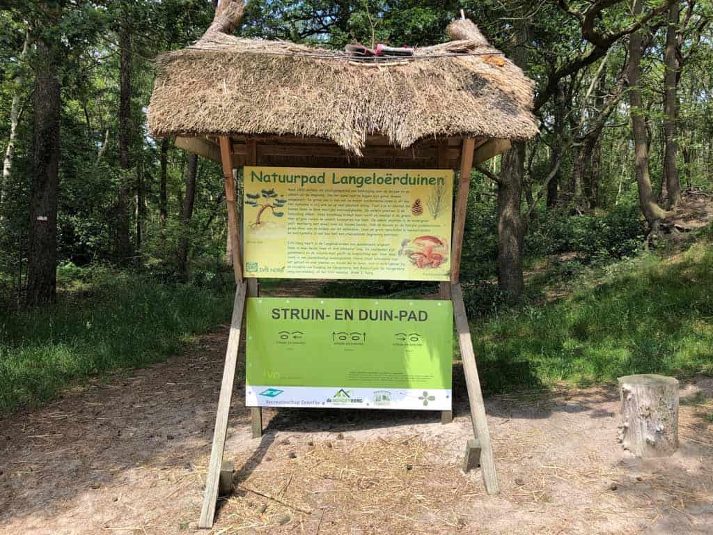 Uitleg over de wandeling over het Struin- en duinpad