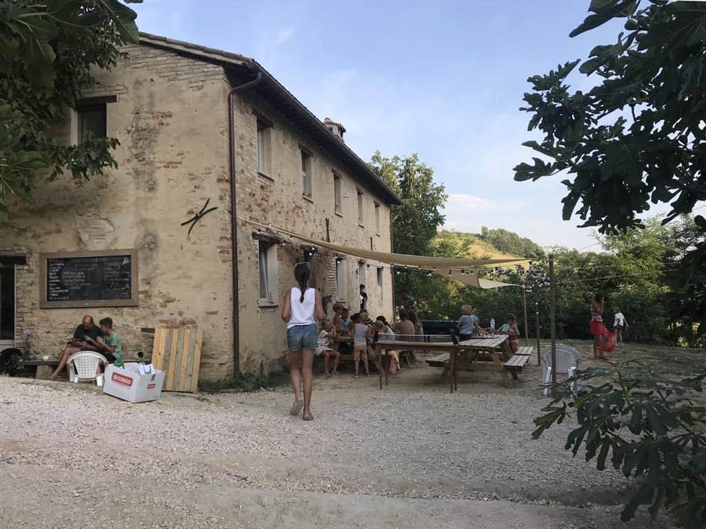 Het hart van camping Pronto Campi