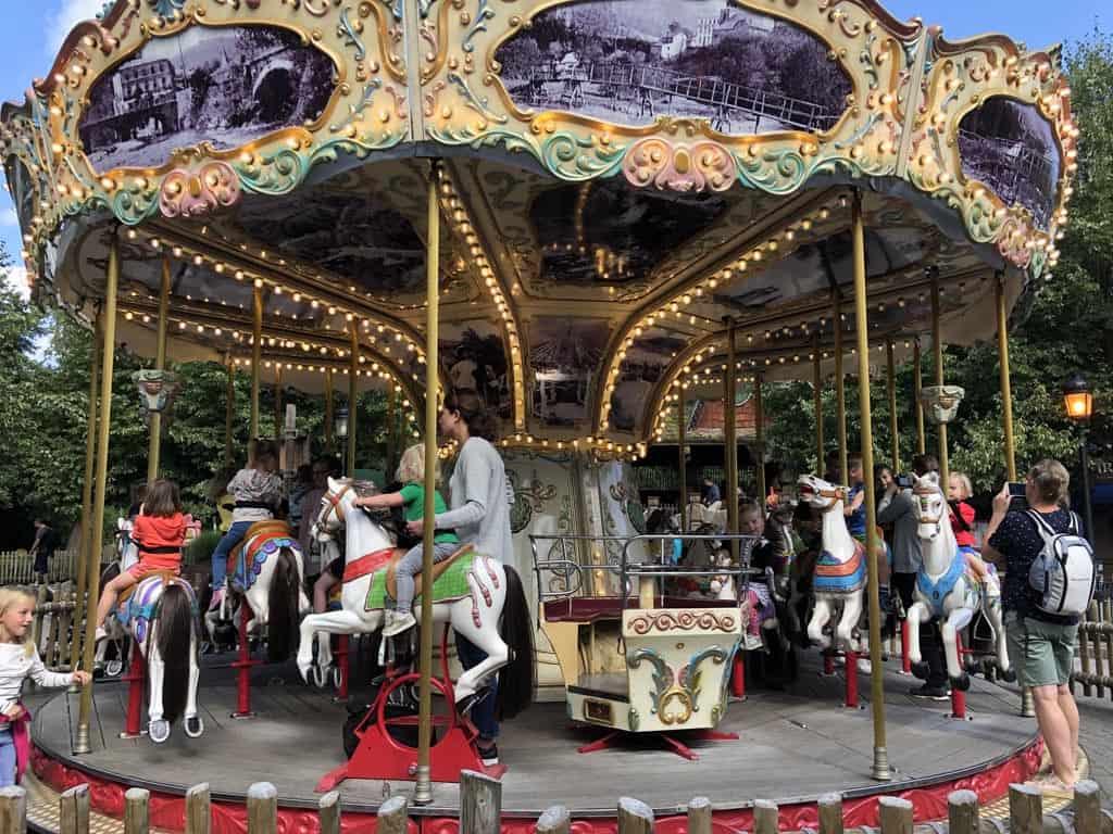 Eerste stop: de carrousel