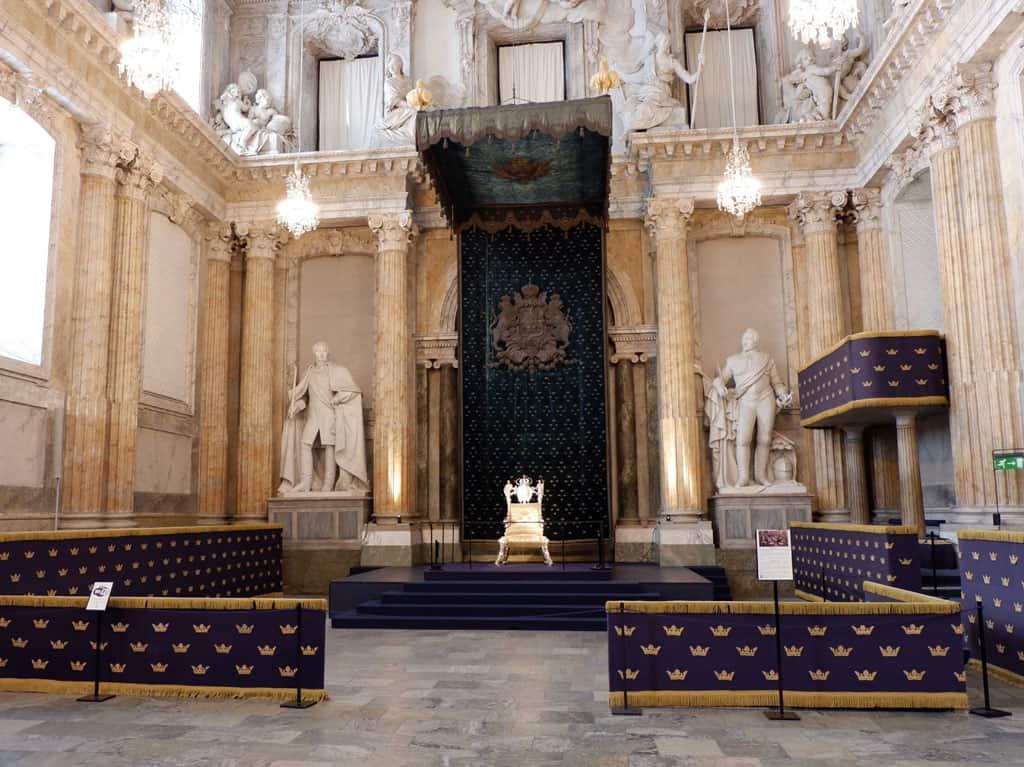 Troonzaal Kungliga Slottet