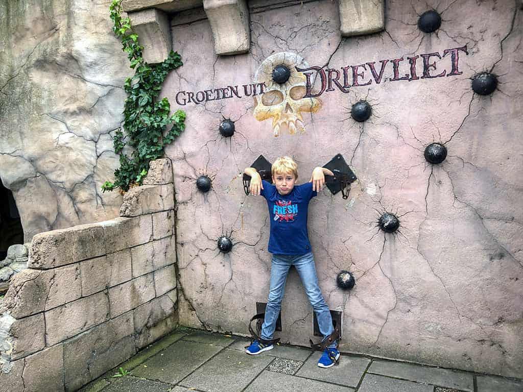 Een goeie plek als de kids vervelend zijn... ;)