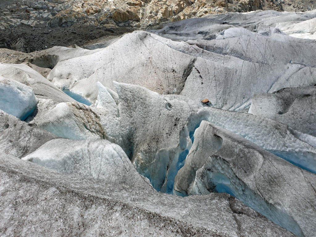Wat is dit bijzonder om te zien gletsjertocht-met-kinderen
