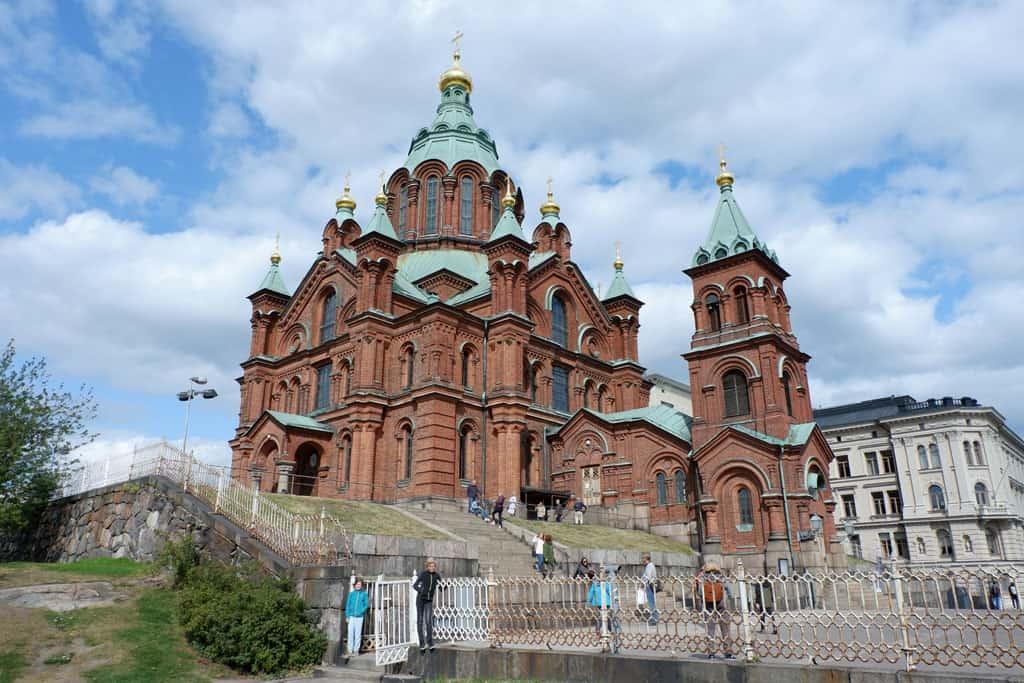 Oespenski Kathedraal Helsinki
