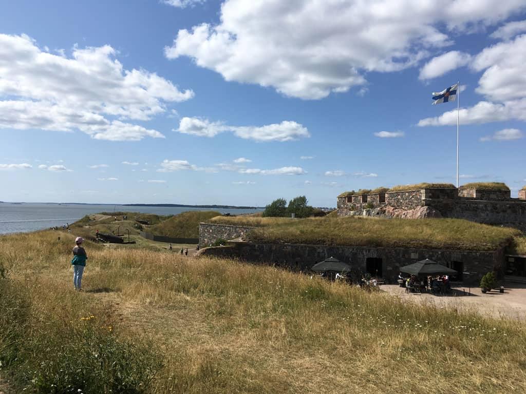 Het fort Suomenlinna