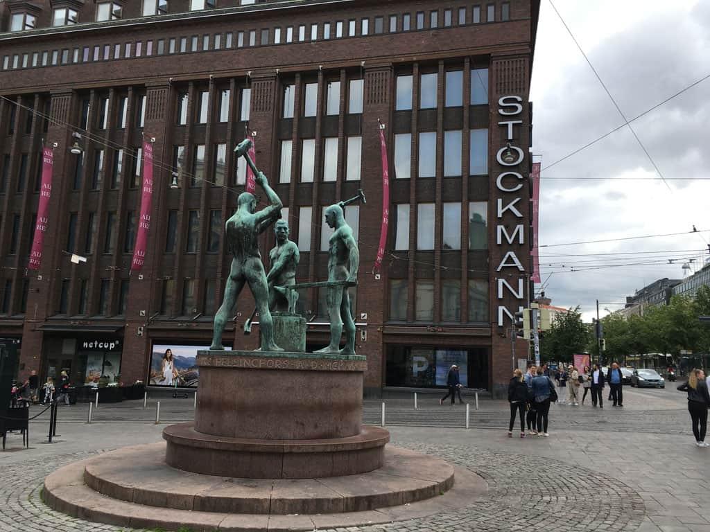 Shoppen bij Stockmann