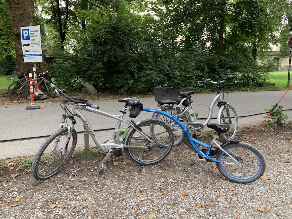 Onze fietsen.