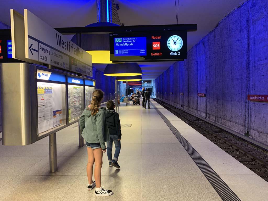 Plan münchen zonen u-bahn PLAN DER