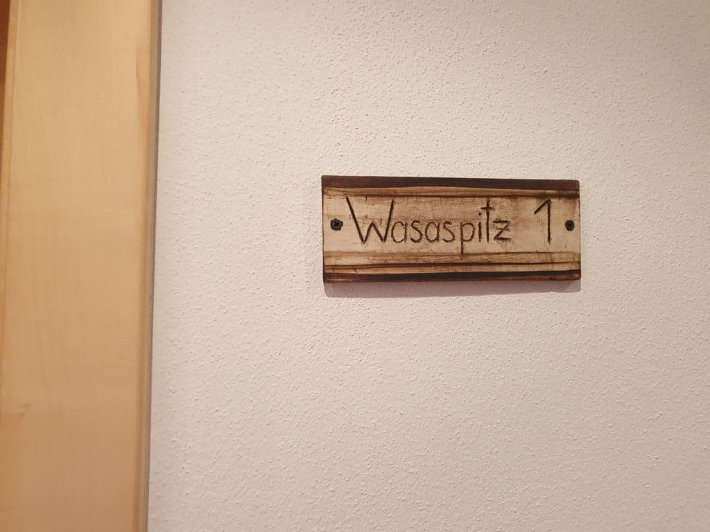 Wasaspitz, een appartement voor 2 personen, maar ook geschikt voor 4 personen. Pension-Bergkristall-in-Brand-