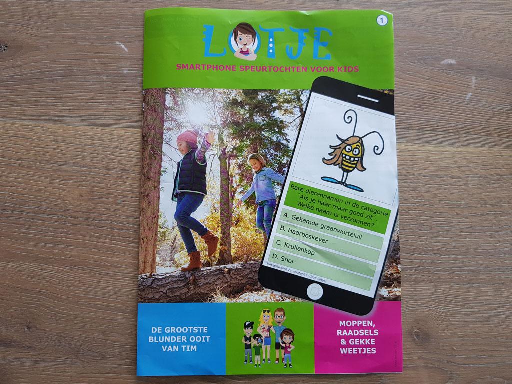 De GPS speurtochten van Lotje zijn ontzettend leuk voor kinderen van 6-12 jaar.