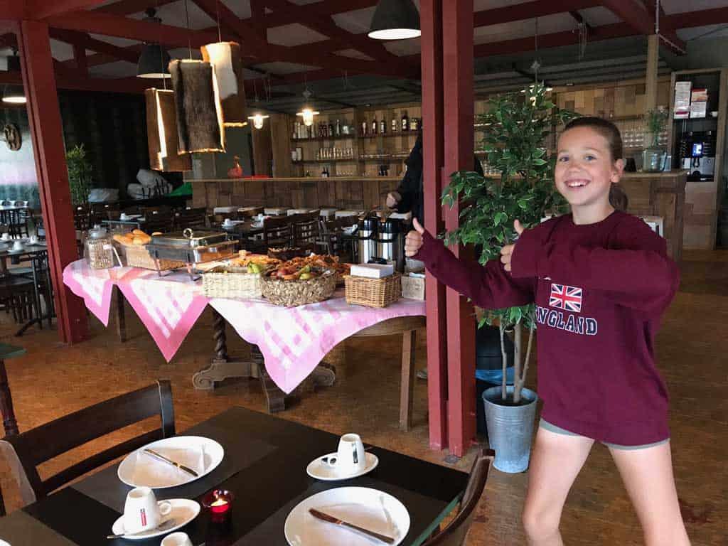 Vinea Family outdoor weekend ontbijt