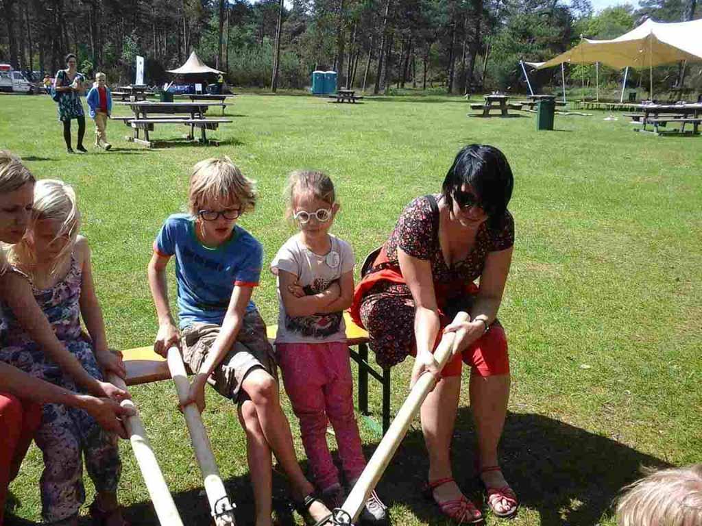 Als je in de vakantie naar Nationaal Park de Hoge Veluwe gaat, zijn er veel activiteiten voor kinderen