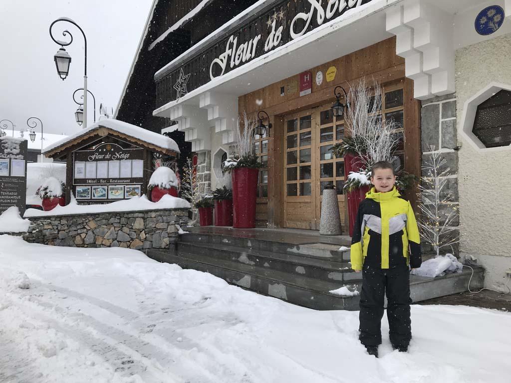 Hotel Fleur de Neige in Châtel.