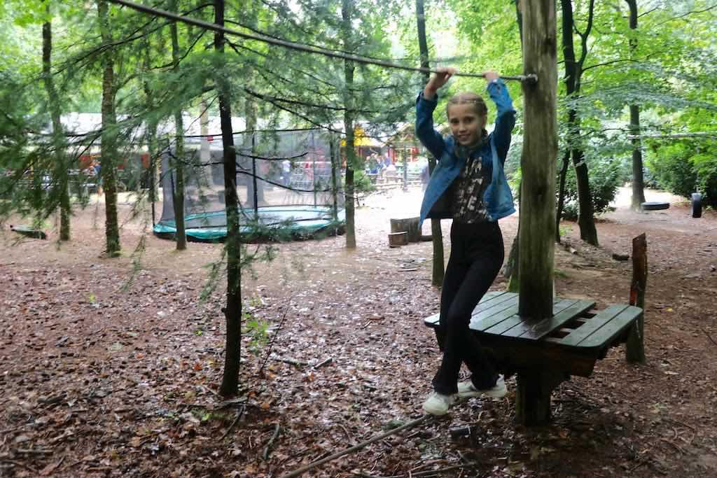 Tina zomerkamp Bos