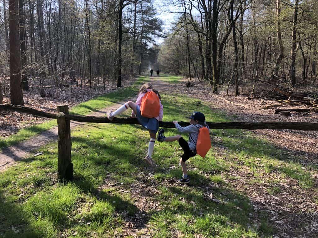 Kinderwandeling het Wolvenspoor in het Vechtdal is een leuke route met opdrachten.