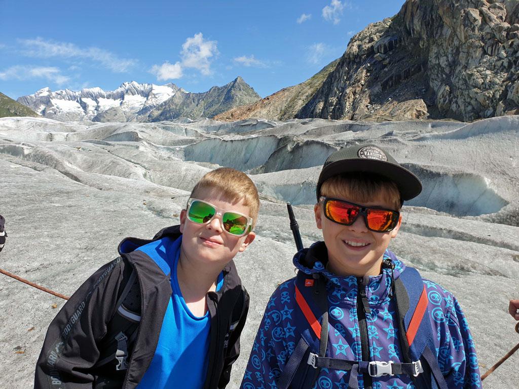 Wij vinden de gletsjertocht super leuk! vakantie-in-de-aletsch-arena