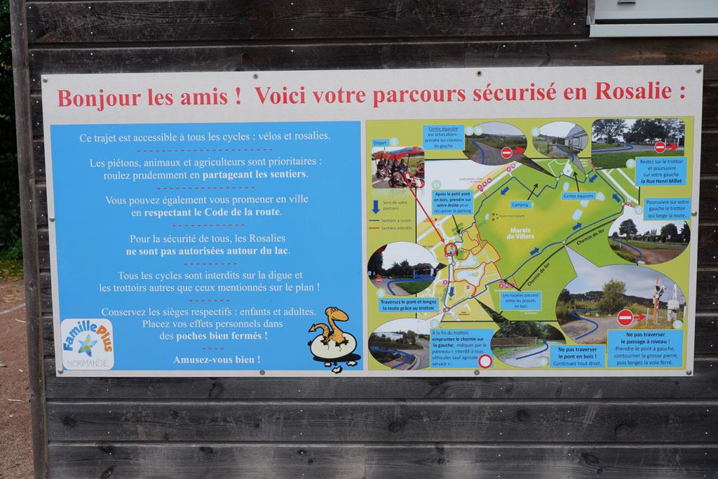 Fietsen in Le Marais de Villers-Blonville