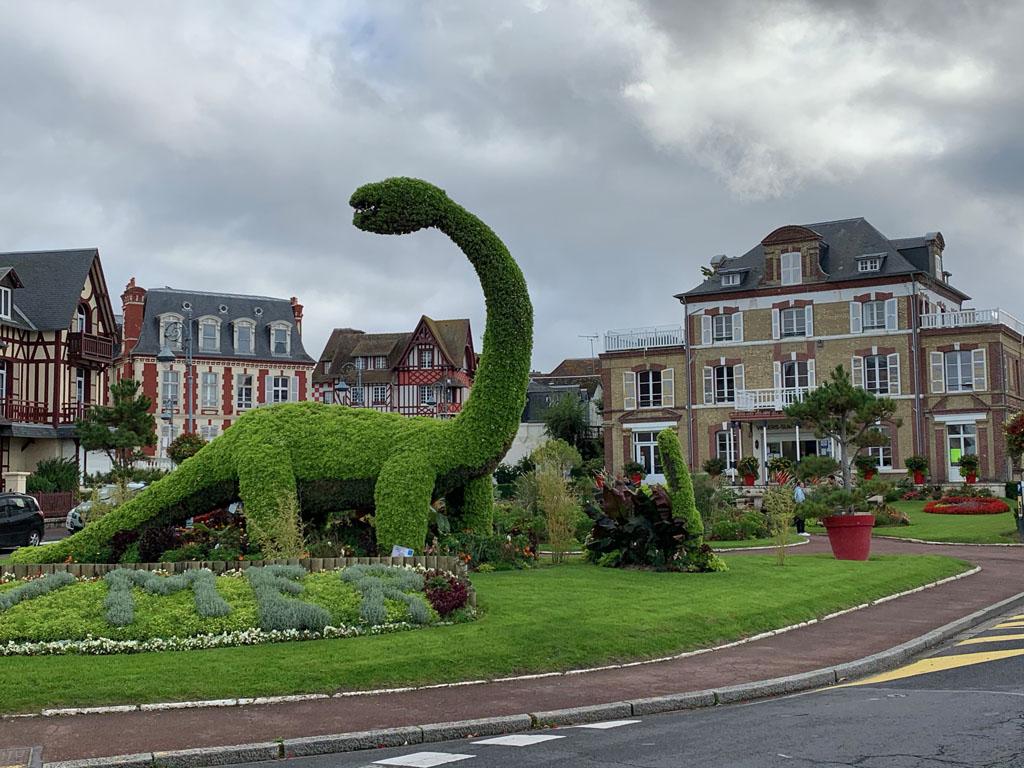 entree Villers-sur-mer Normandie