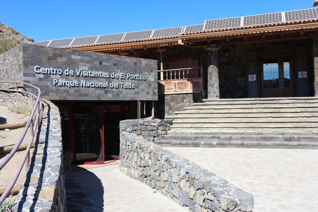 Het bezoekerscentrum van Nationaal Park El Teide.
