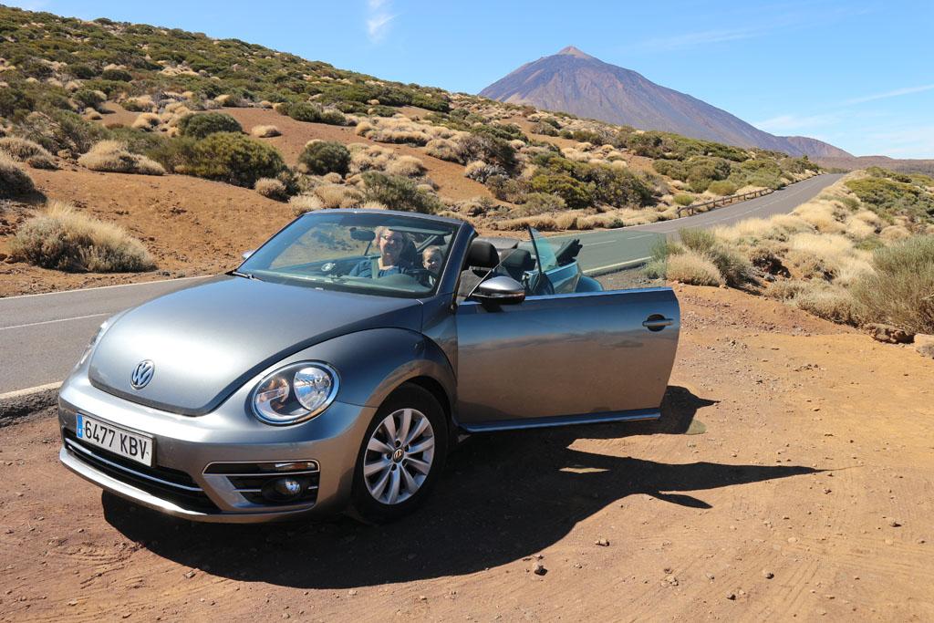 Wij laten El Teide achter ons en rijden door in de richting van Guiïmar.