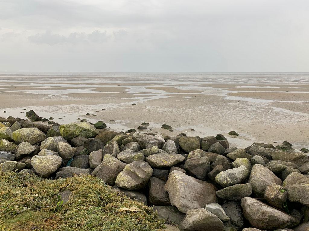 Het wad en de Waddenzee bij Terschelling
